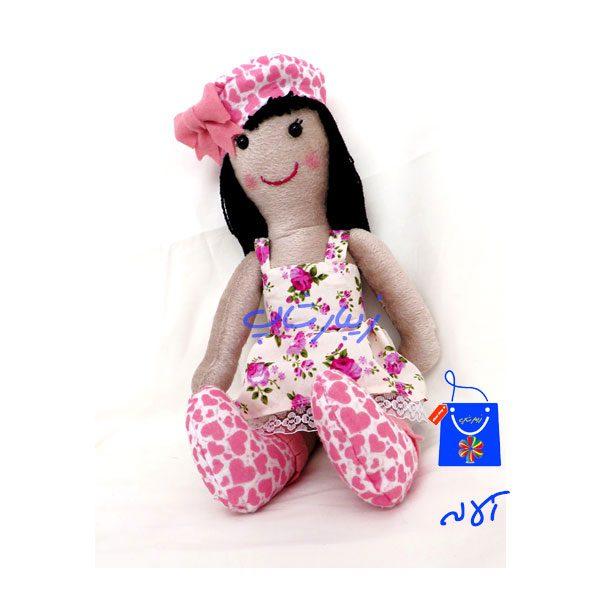 عروسک پارچه ای مدل آلاله