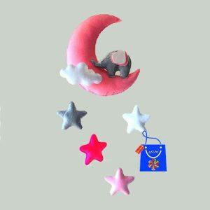 ماه و ستاره نمدی