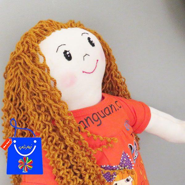 عروسک مو طلایی فرفری