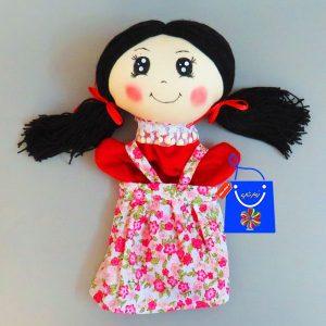 عروسک نمایشی دختر