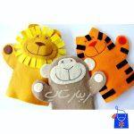 شیر-گربه-میمون-نمدی۱